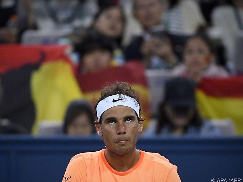 Rafael Nadal ist ratlos