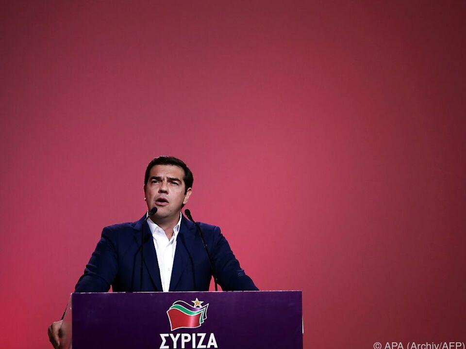 Regierungschef Alexis Tsipras wollte offenbar Drachme zurück