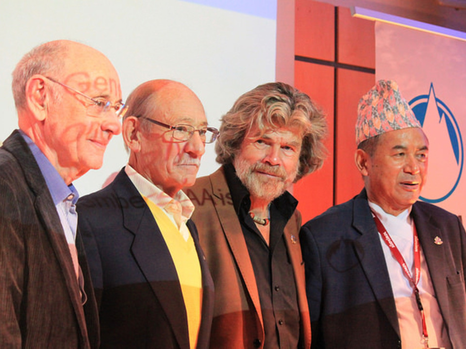 Reinhold Messner Ang Tshering Sherpa