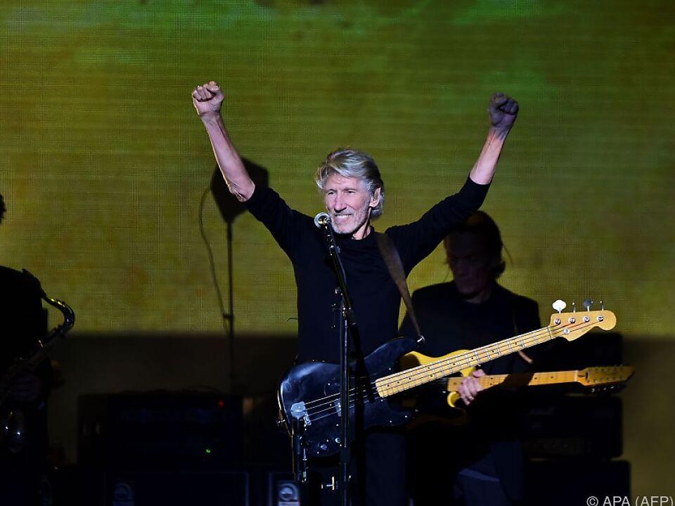 Roger Waters machte seinen Standpunkt deutlich