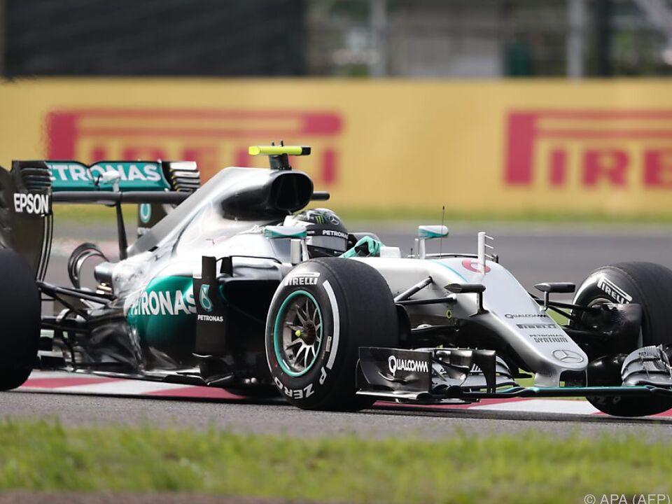 Rosberg derzeit schwer zu knacken
