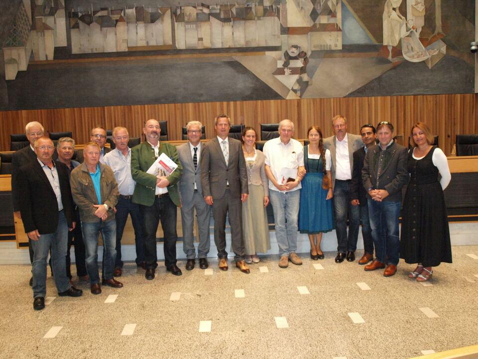 Delegation Salzburg Klotz stf