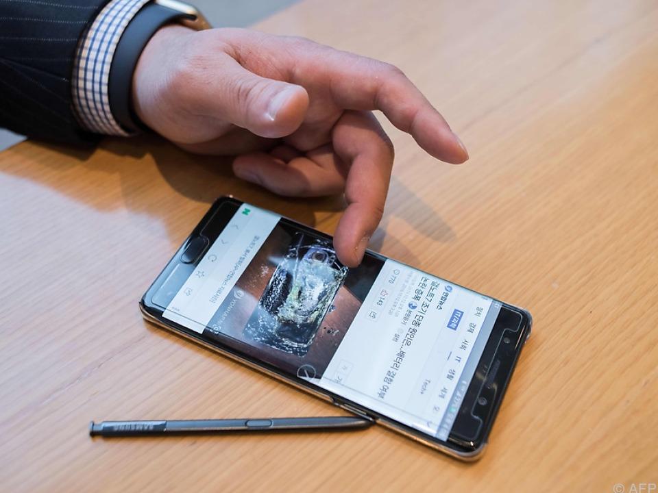 Samsung wechselte kürzlich den Akku-Lieferanten