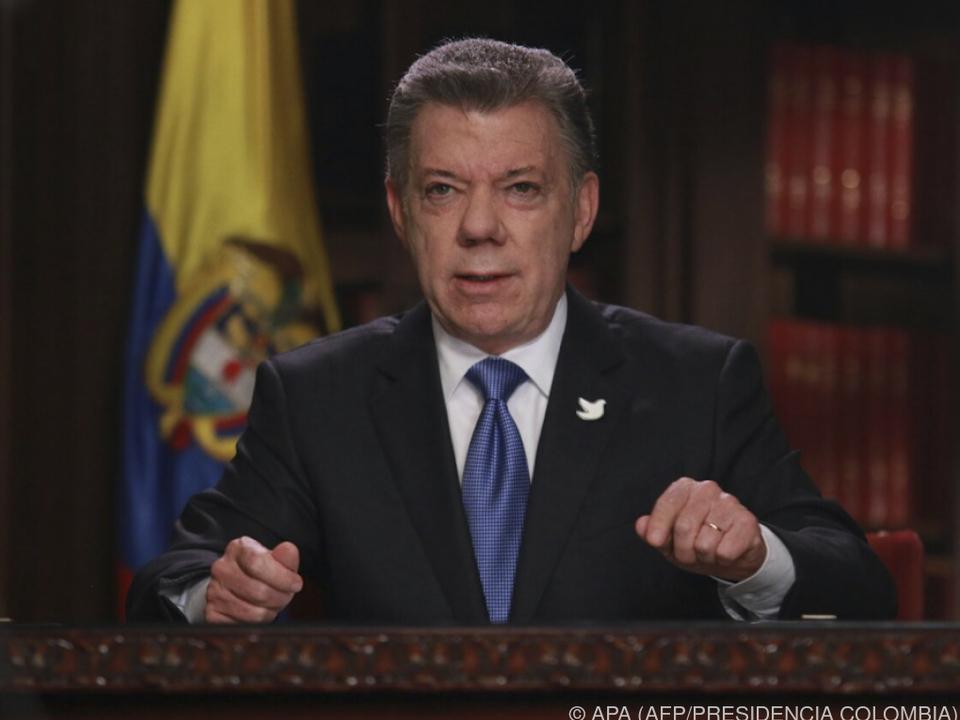 Santos bemüht sich um die Beilegung des Konflikts mit der FARC