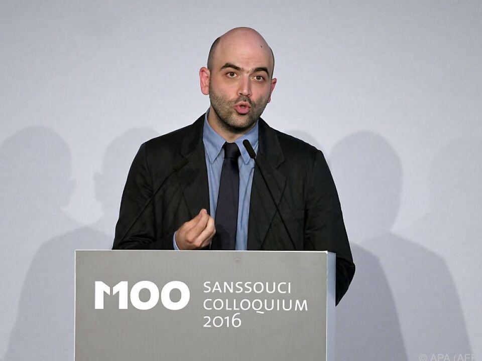 Saviano will weiter gegen die Mafia kämpfen