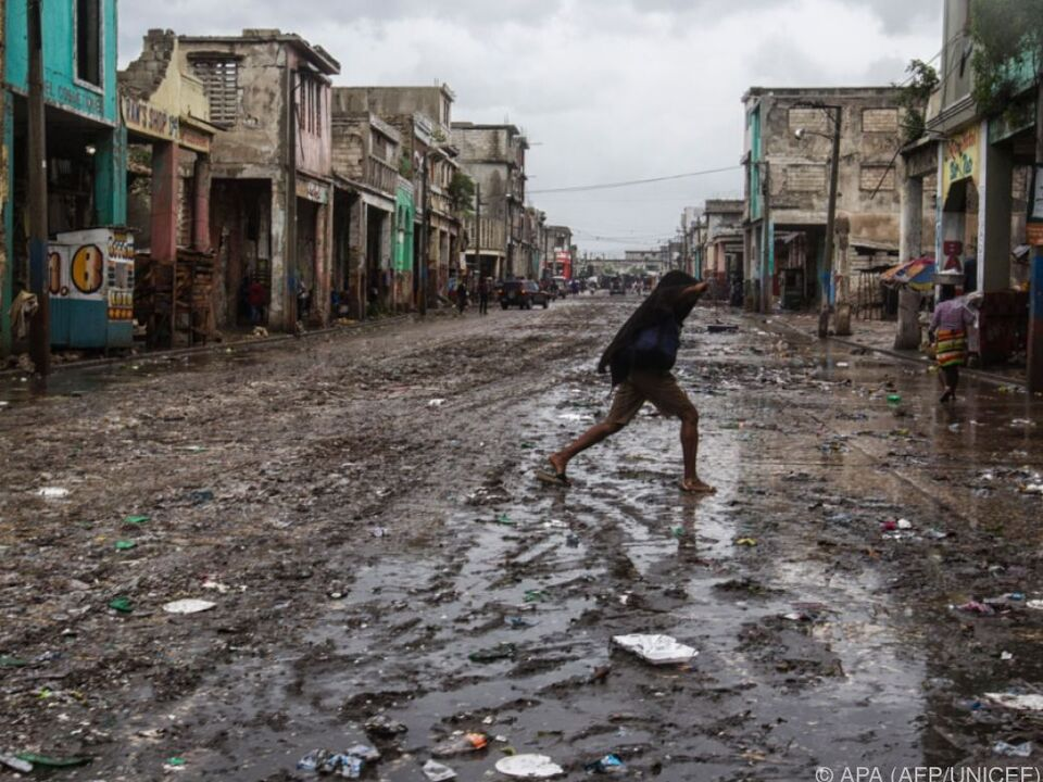 Schwere Verwüstungen in Haiti