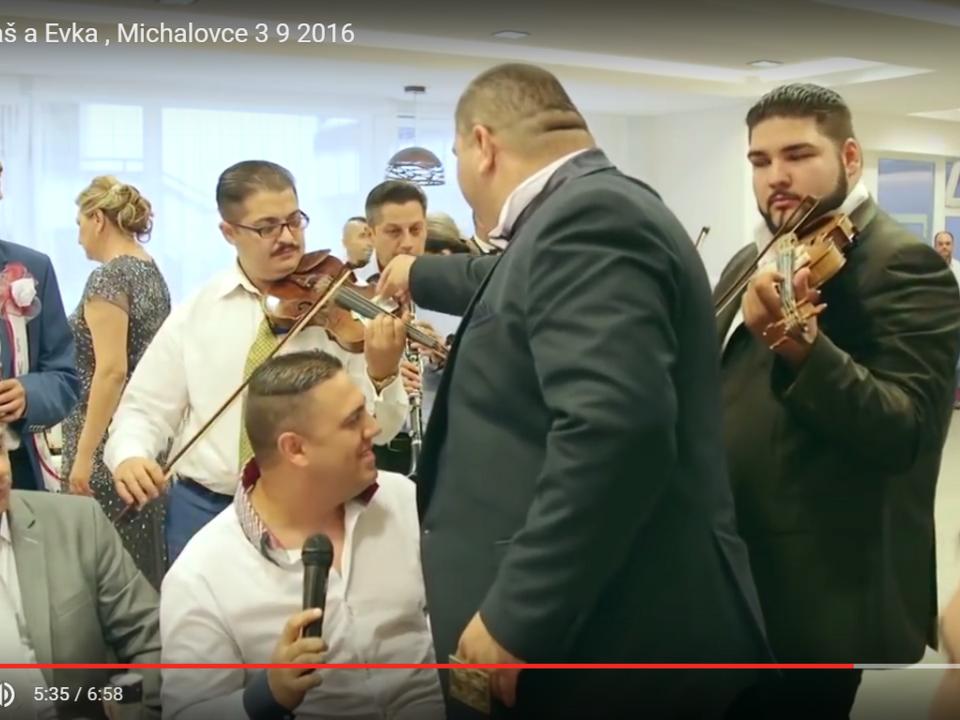 YouTube/IGOR19521 Svadba Lukaš a Evka , Michalovce 3 9 2016