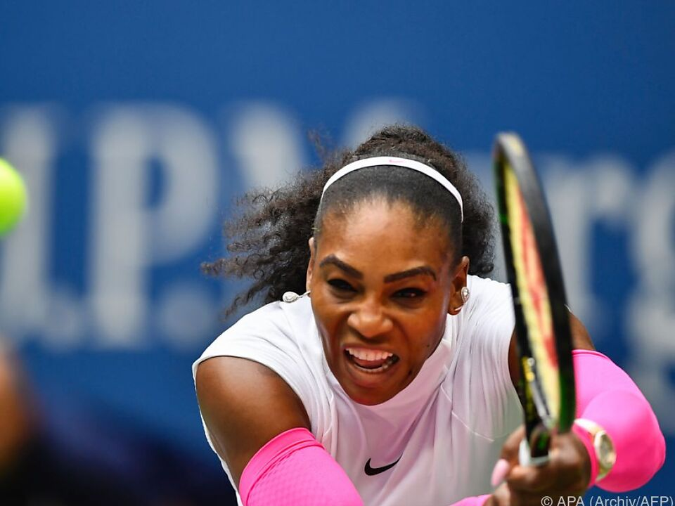 Serena Williams hat Schulterprobleme