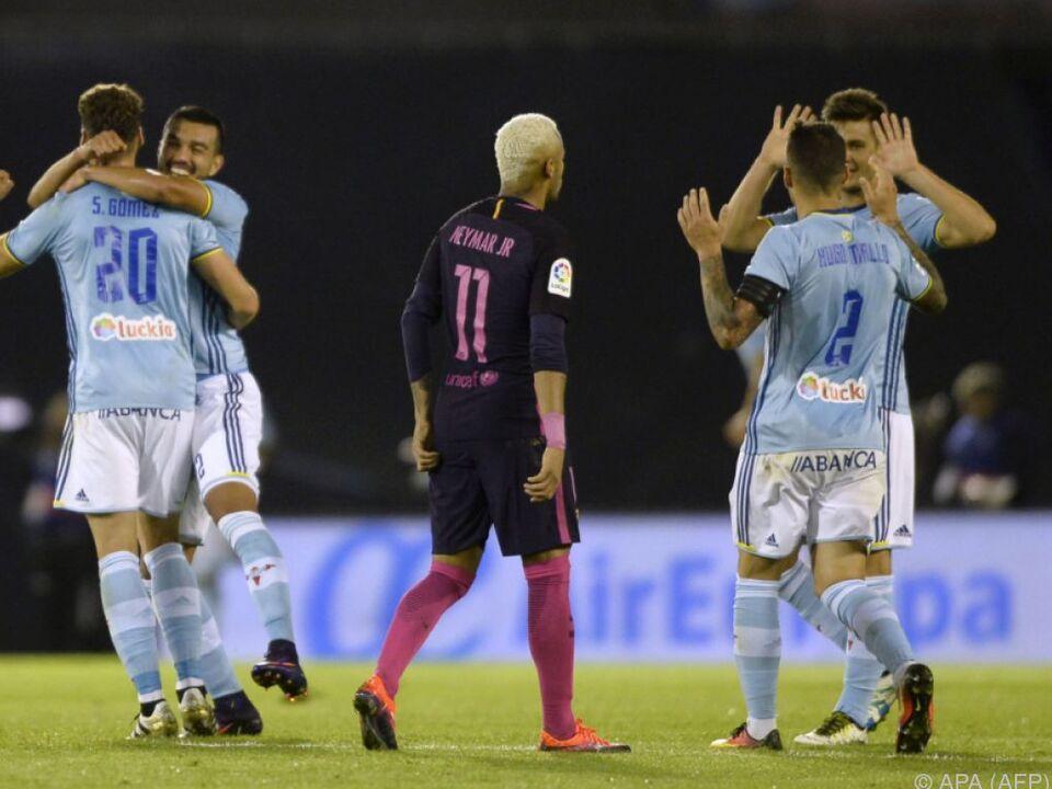 Serh schwache Vorstellung des FC Barcelona in Vigo