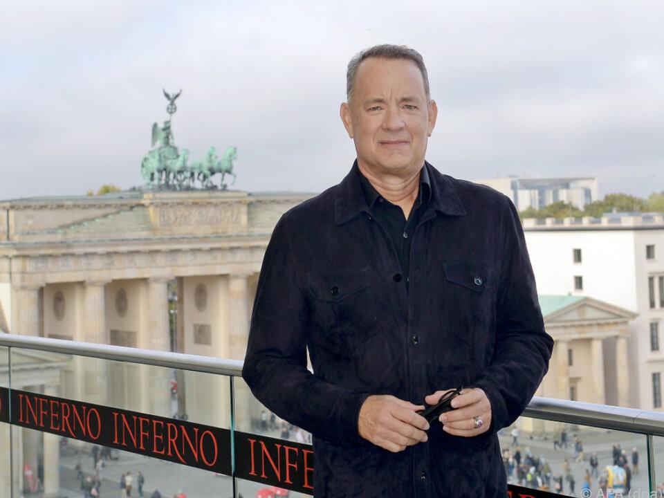 Tom Hanks hält sich derzeit in Berlin auf