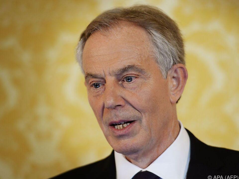 Tony Blair ist ein Gegner des aktuellen Labour-Chefs Jeremy Corbyn