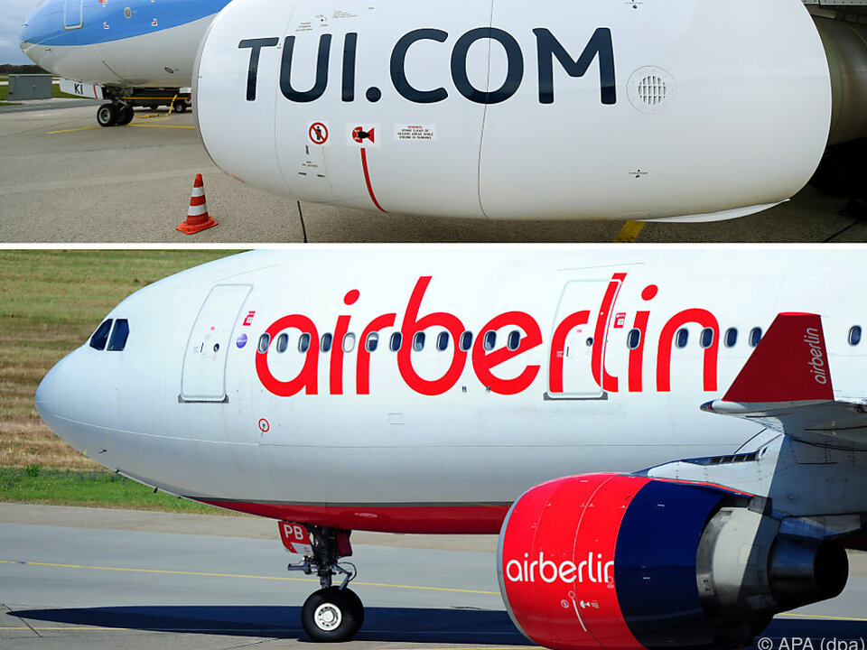 Tuifly und Air Berlin dürften fusionieren