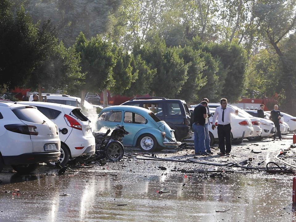 Mehrere Verletzte bei starker Explosion in Antalya