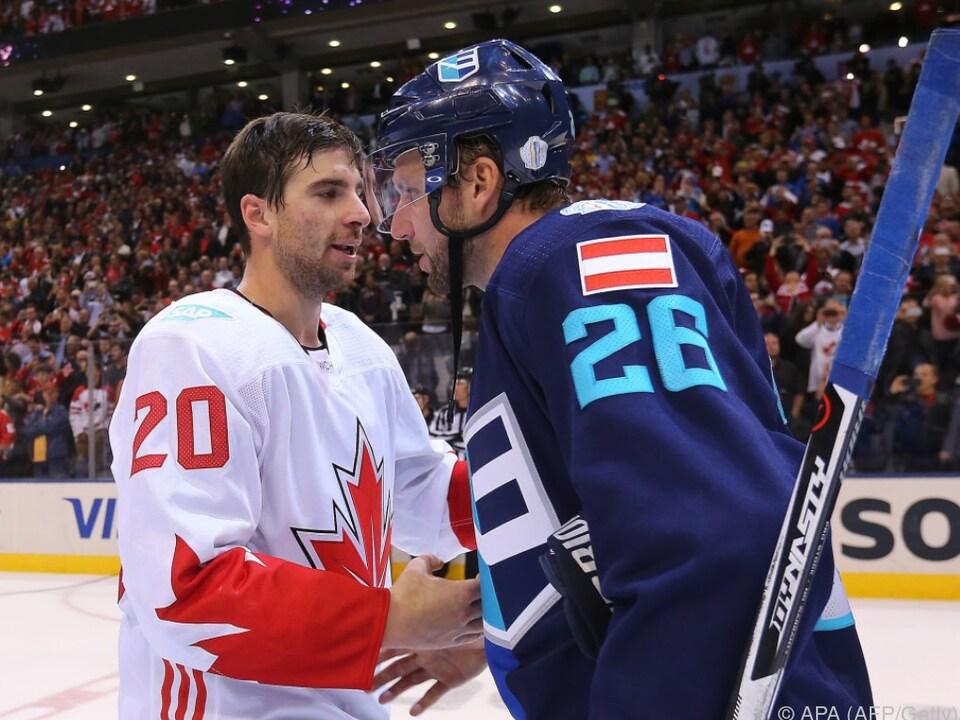 Vanek beeindruckte zuletzt mit dem Team Europa beim World Cup