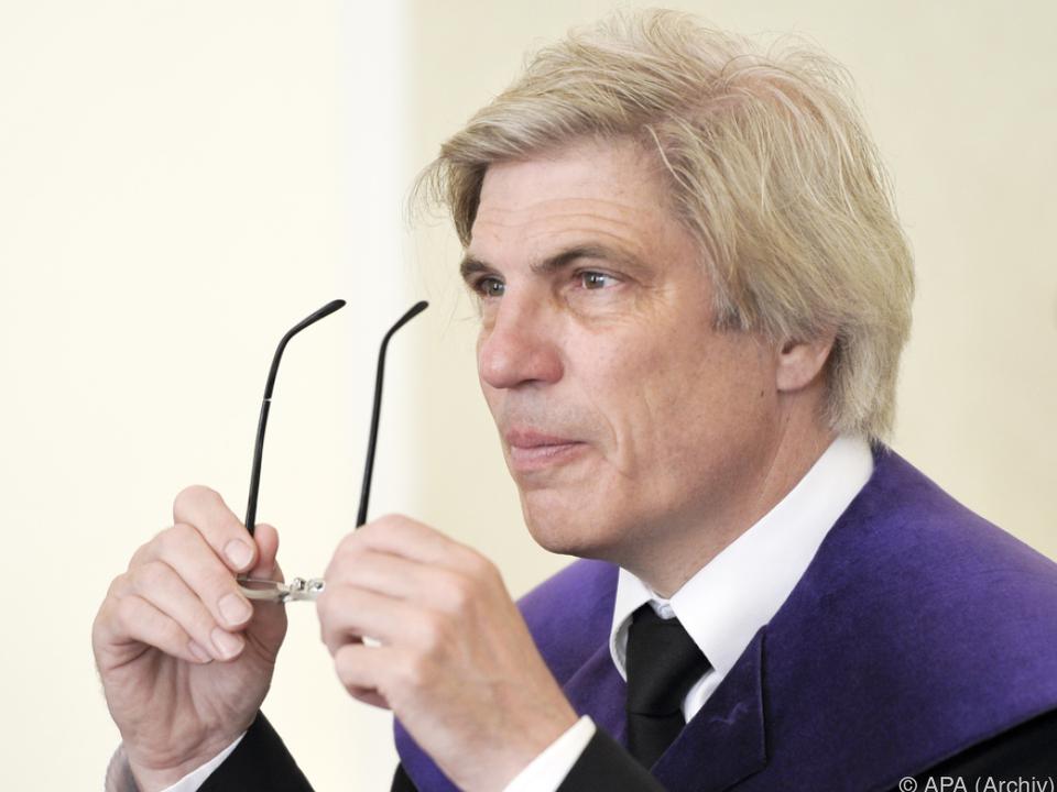VfGH-Richter Johannes Schnizer hatte zuletzt für Aufsehen gesorgt