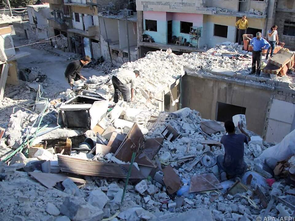 Von Frieden ist Syrien weit entfernt