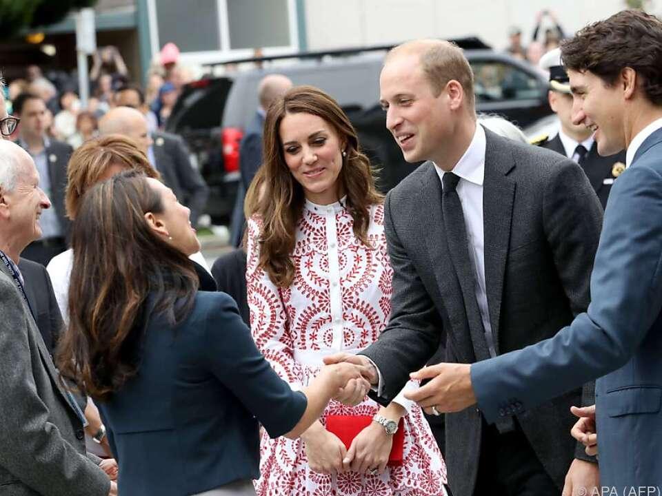 William und Kate besuchten Kanada