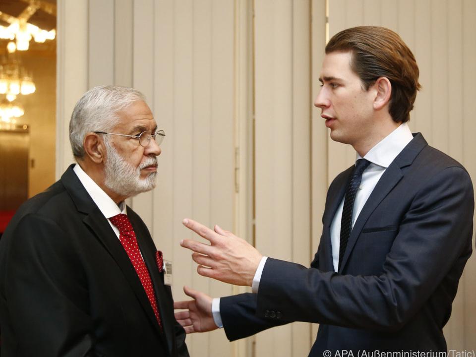 Zwei Außenminister unter sich