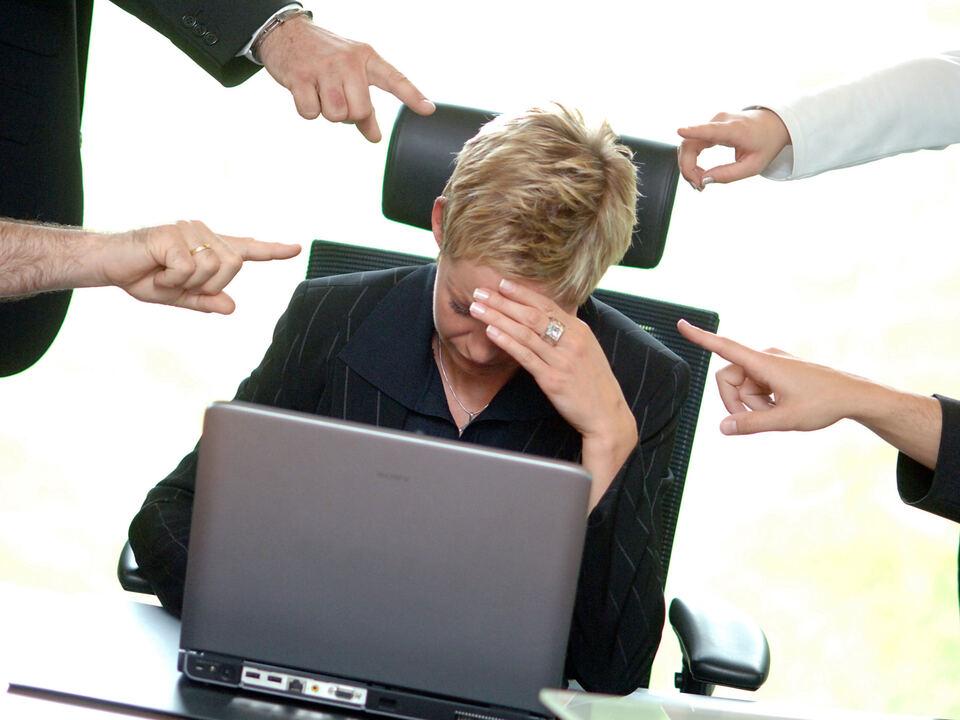 job gewalt Mobbing am Arbeitsplatz
