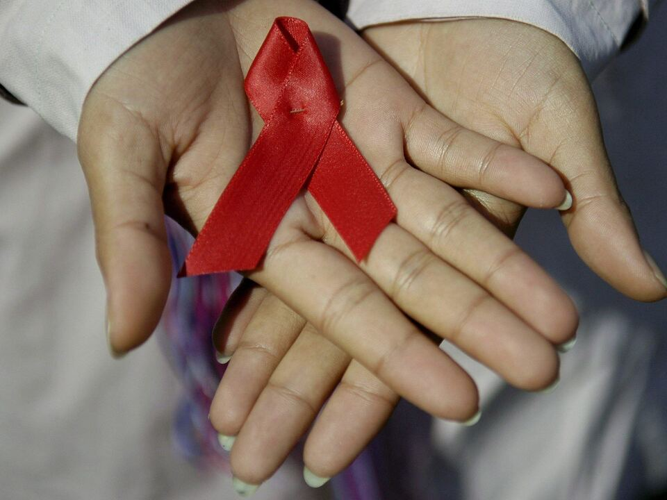 Welt-AIDS-Tag AIDS Schleife Aids