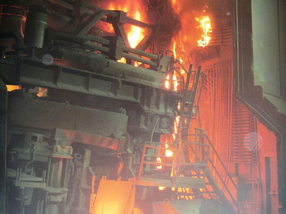 Brand Stahlwerke Bozen