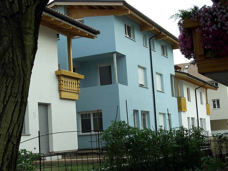 wohnbau gefördert wohnhaus