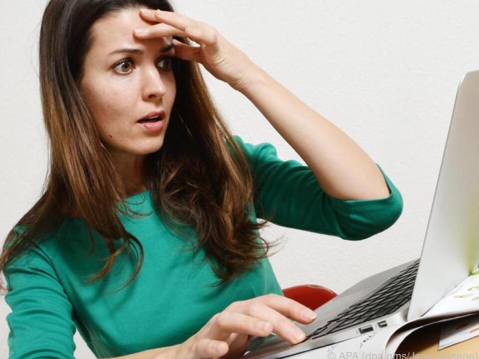 Auch im Internet ist Betrug weit verbreitet