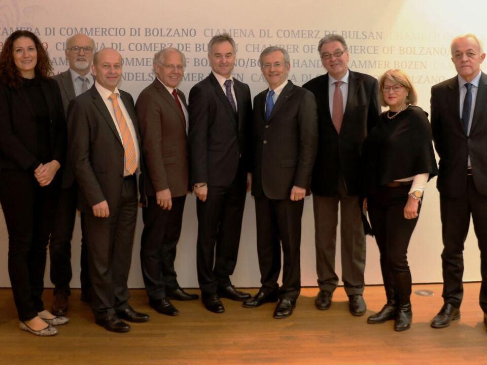 Besuch Slowenischer Wirtschaftsverband Kärnten (c) hk