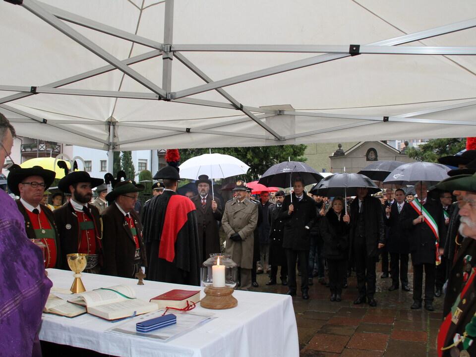 allerseelen militärfriedhof soldatenfriedhof Celebrazione della Santa Messa