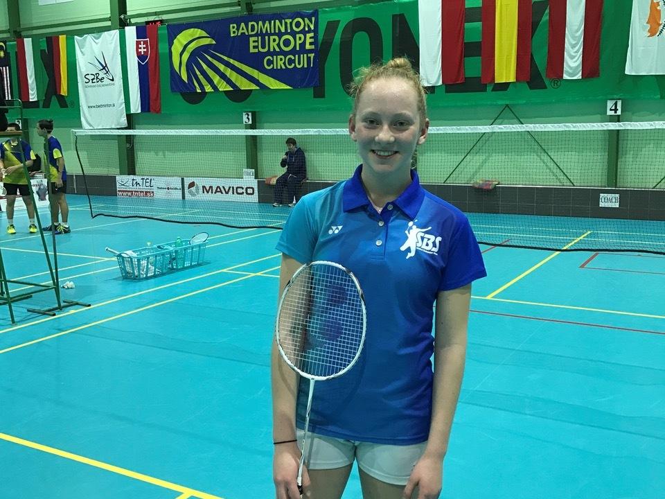 Fink Katharina - vincitrice torneo Slovak Junior u15 SF