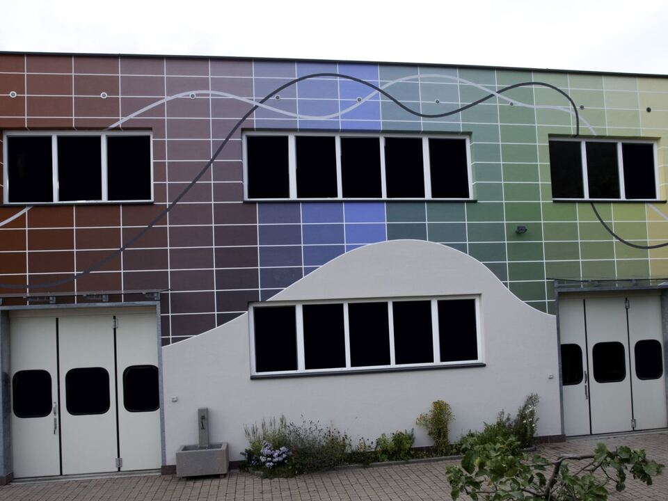 Firmen Fassade Stürz