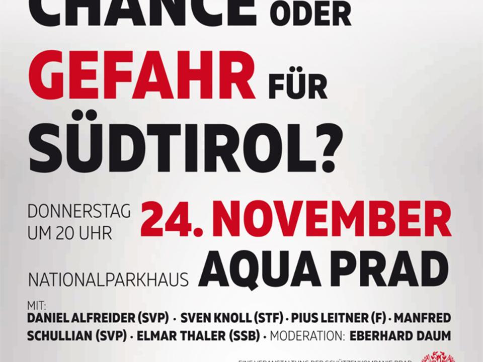 Flugblatt Prad