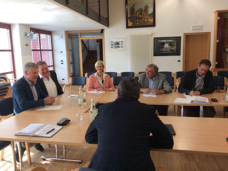 Foto Bürgermeister-Treffen