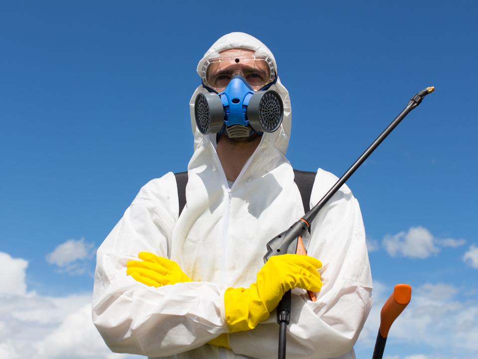 Pestizid glyphosat spritzen gift