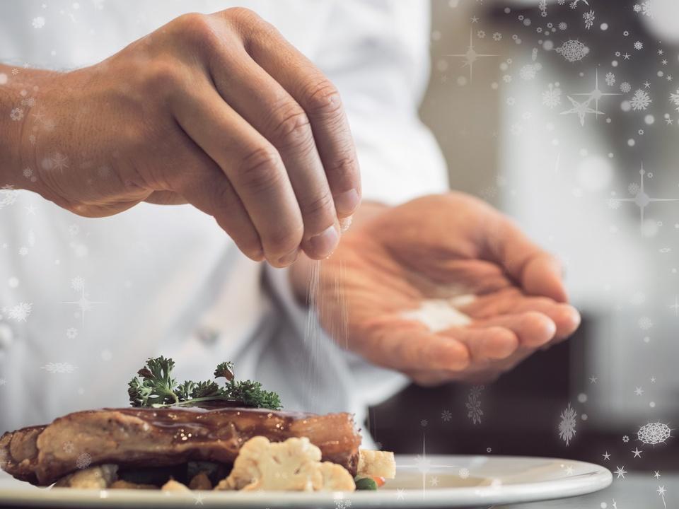 koch küche fleisch würzen sterne gericht