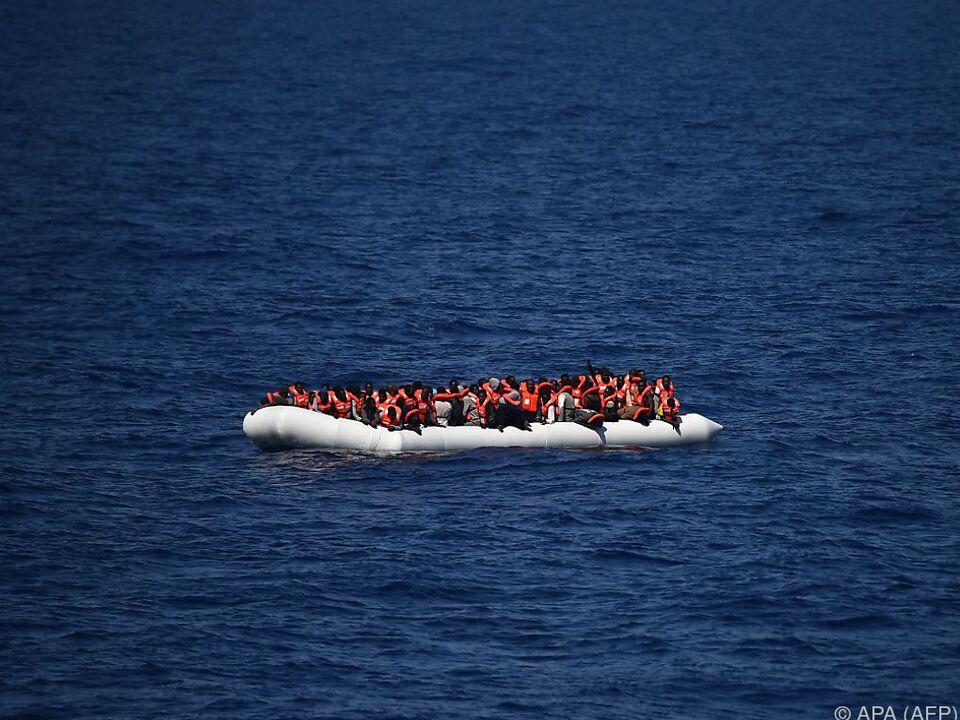 Heuer ertranken besonders viele Flüchtlinge im Mittelmeer