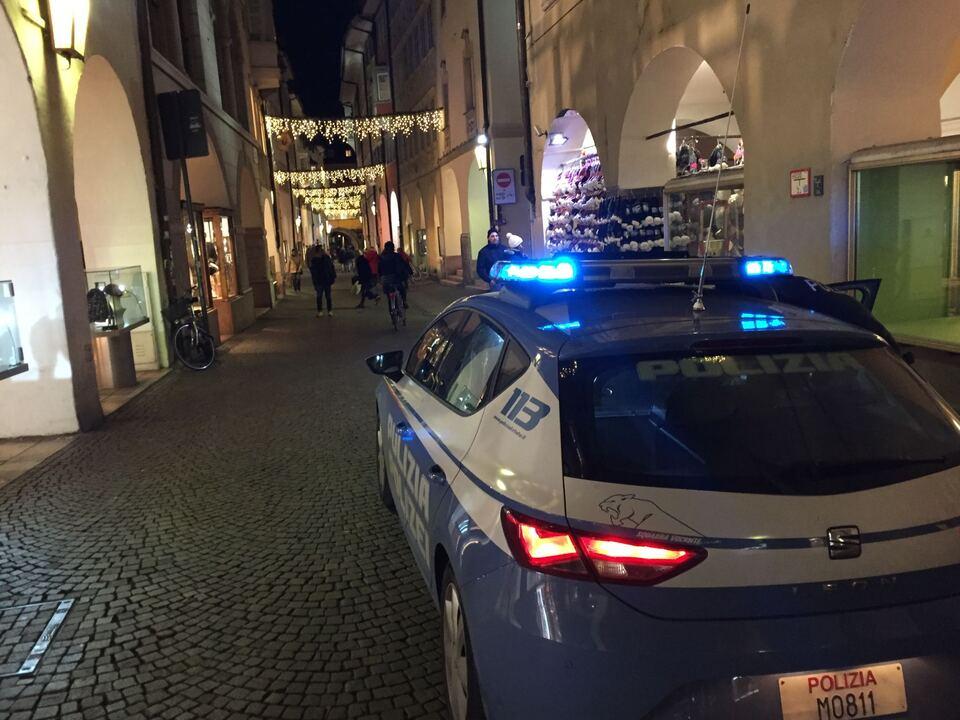 Polizei Bozen Weihnachten
