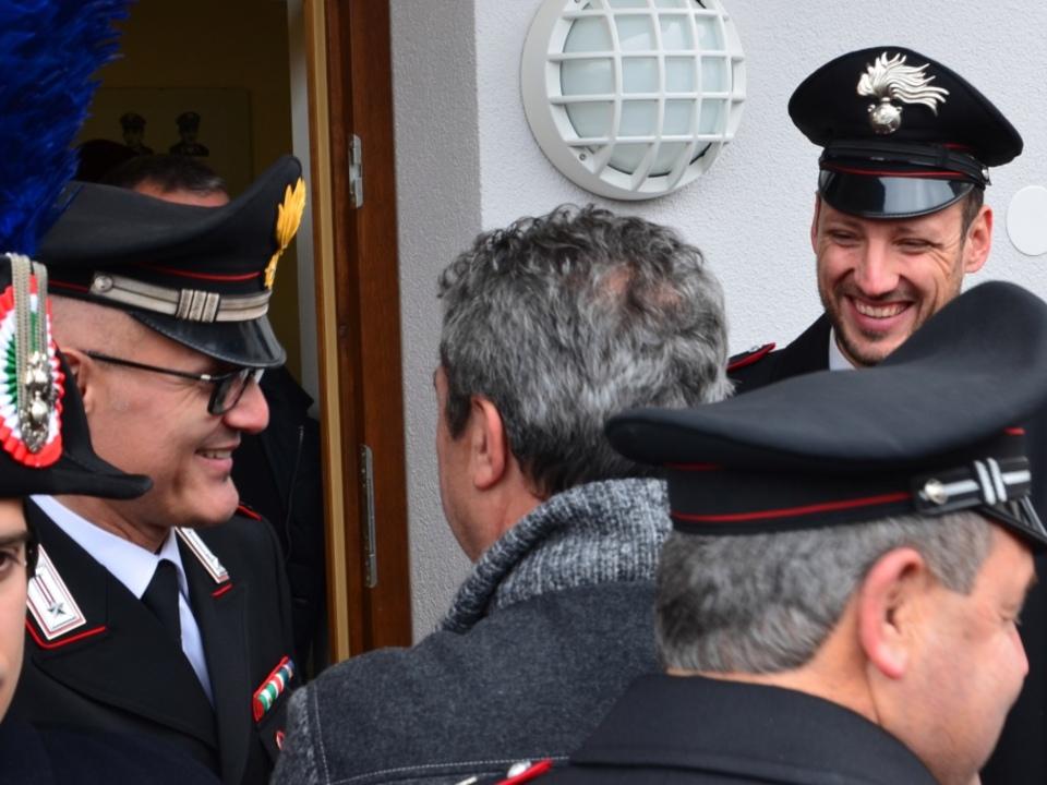 Eröffnung Carabinieri-Station Olang