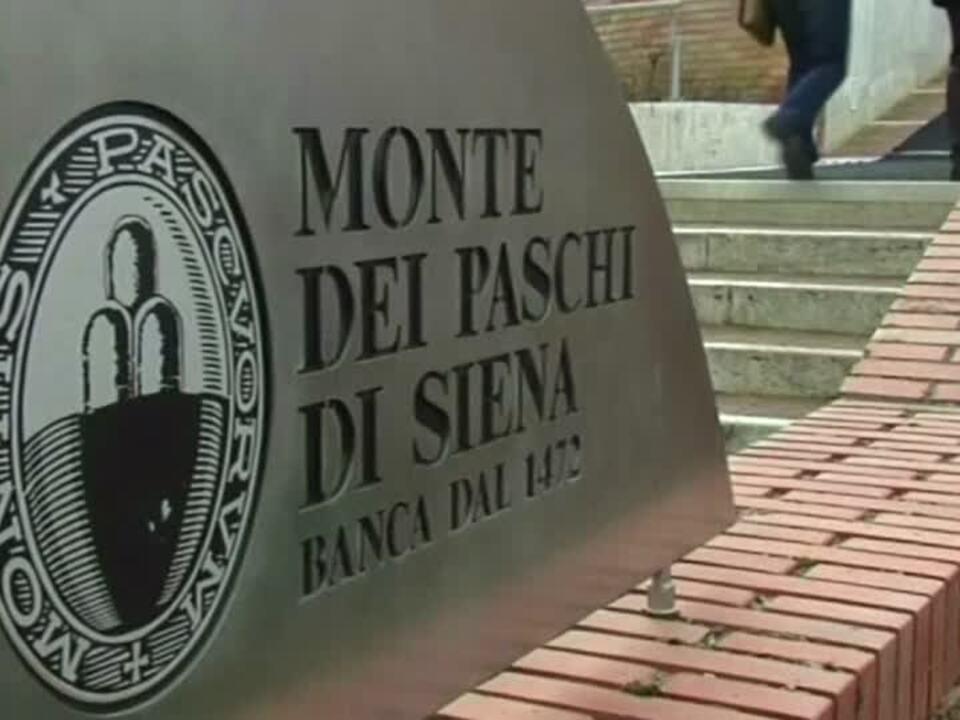 Italienische Bank Monte dei Paschi weist auf Milliardenrisiken hin