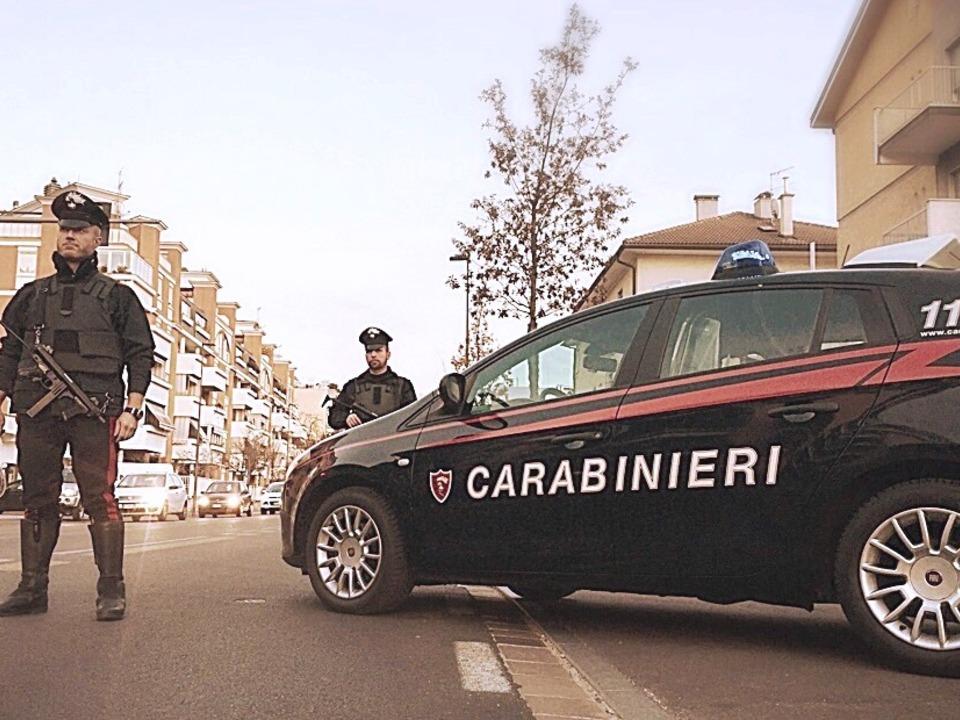 Carabinieri Bozen Herbst