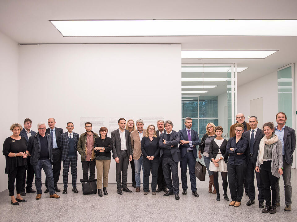 Luca Meneghel - Beirat der Stiftung Museion I