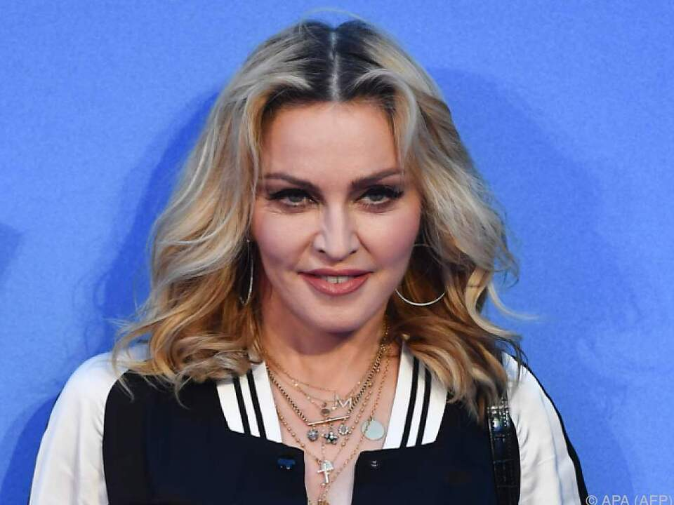 Madonna ist pro Clinton