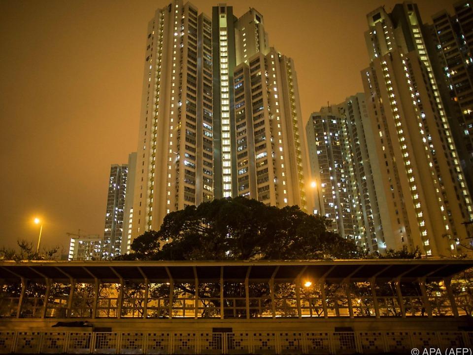 Millionenmetropole Hongkong