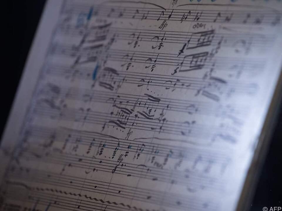 Original-Partitur von Gustav Mahlers zweiter Symphonie versteigert