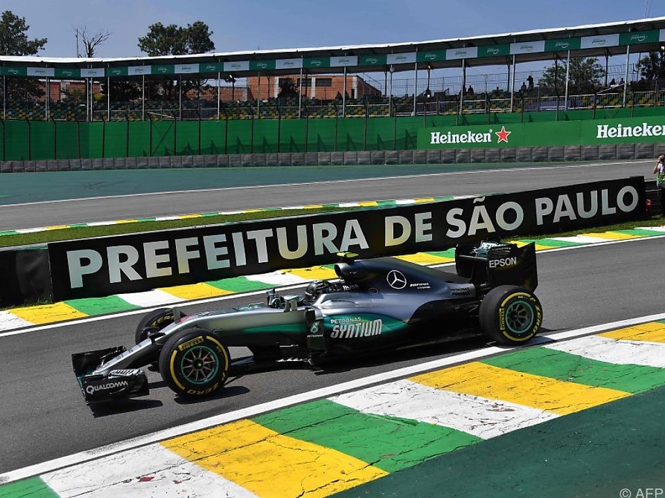 Knapp vor Hamilton: Rosberg Schnellster im Abschlusstraining