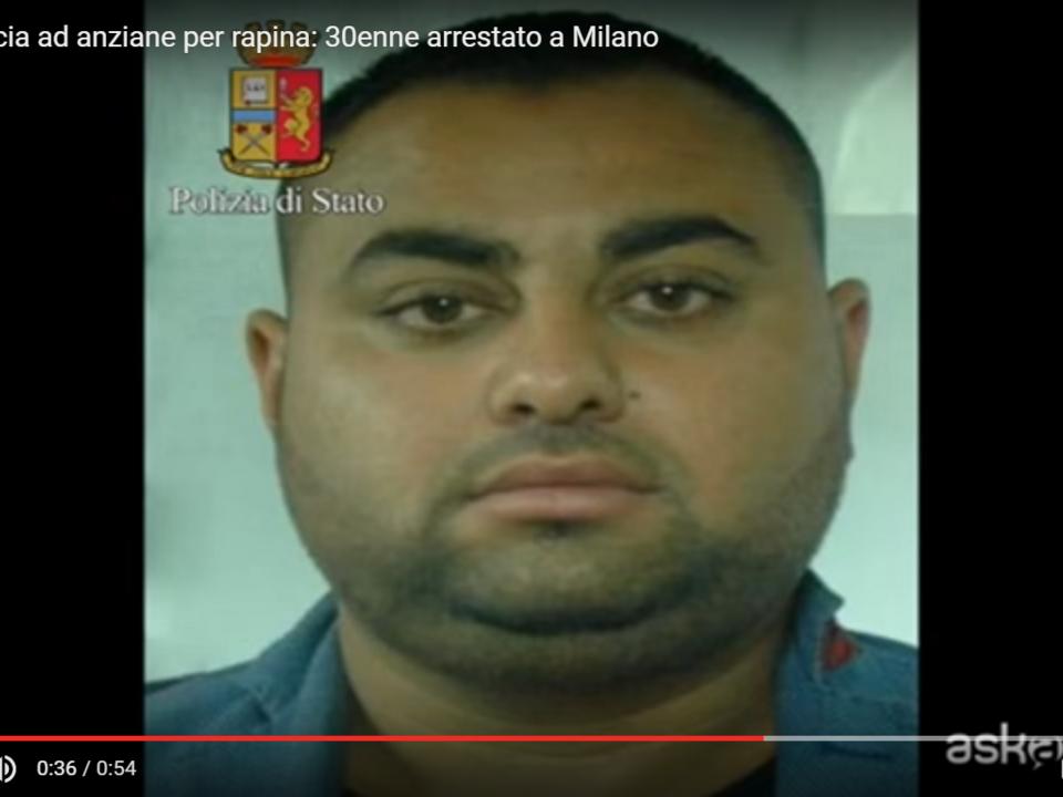 YouTube/ILFOGLIETTONE.IT -Pugni in faccia ad anziane per rapina: 30enne arrestato a Milano