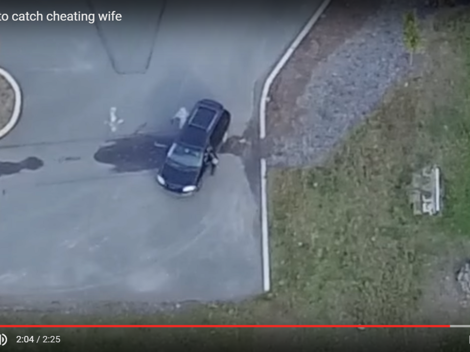 YouTube/YAOG-Drone used to catch cheating wife