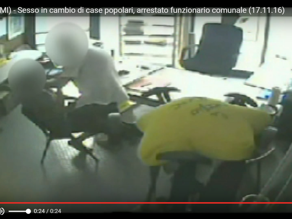 YouTube/Pupia Crime-Rescaldina (MI) - Sesso in cambio di case