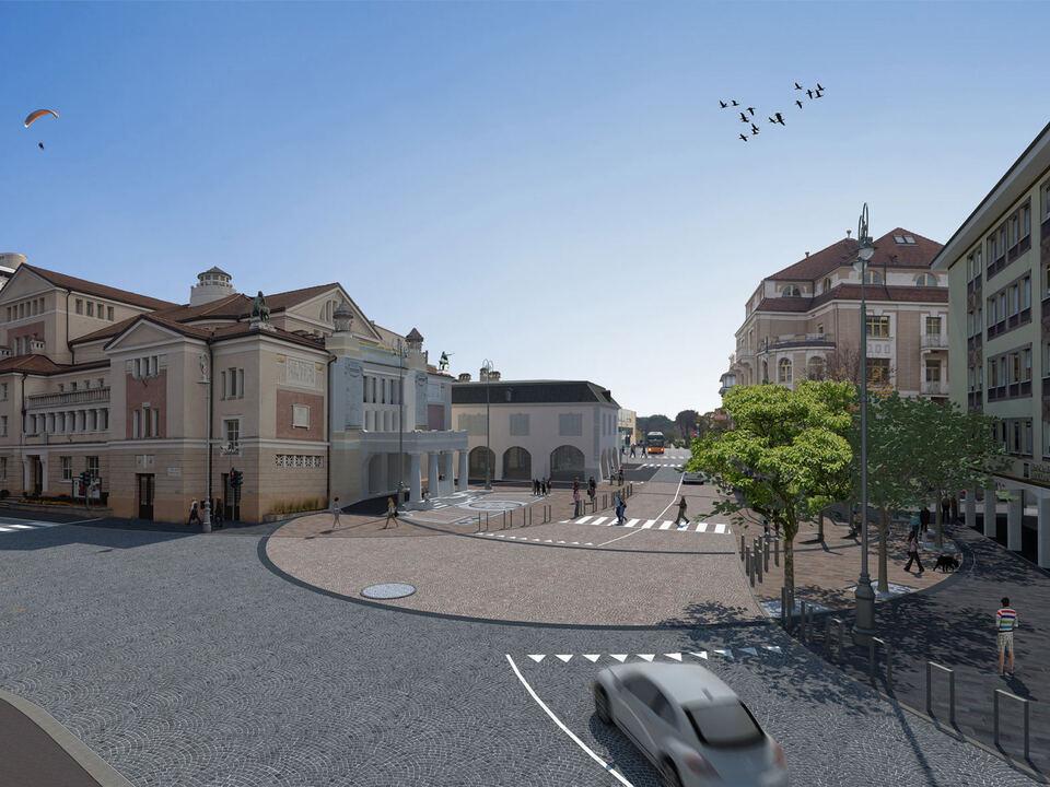 theaterplatz rendering