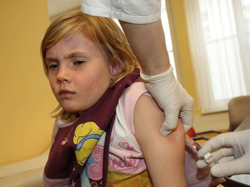 masern impfung spritze